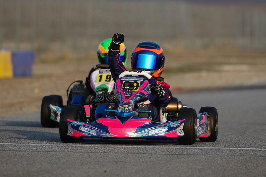 Graham Trammell scored his first career victory in Micro Swift (Photo: DromoPhotos.com)