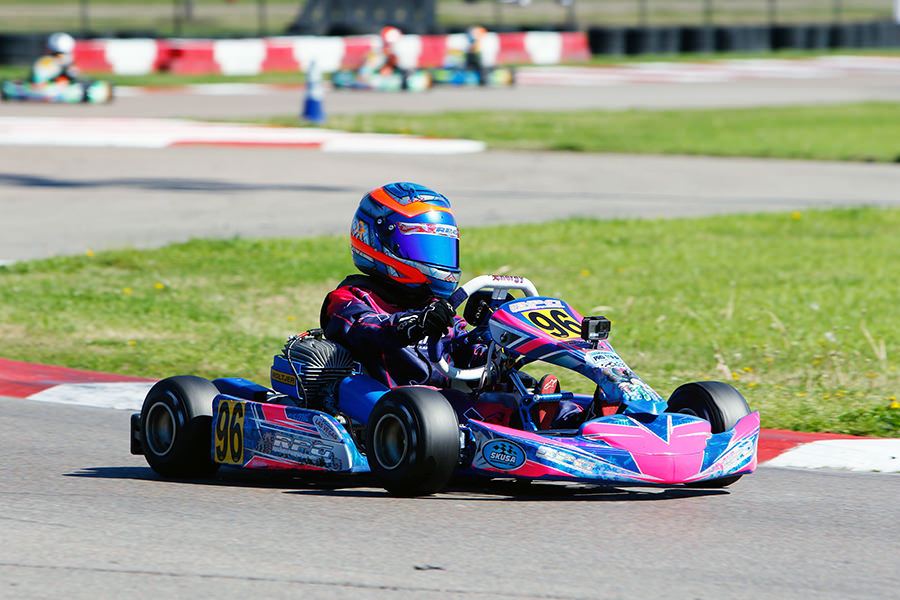 Graham Trammell scored his first top-five finish on the SKUSA Pro Tour in Micro Swift (Photo: On Track Promotions – otp.ca)