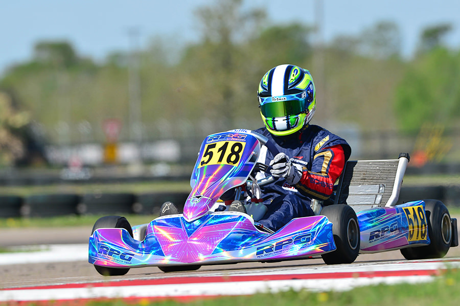 Paulo Lopes recorded two podium finishes in the X30 Master class (Photo: On Track Promotions – otp.ca)