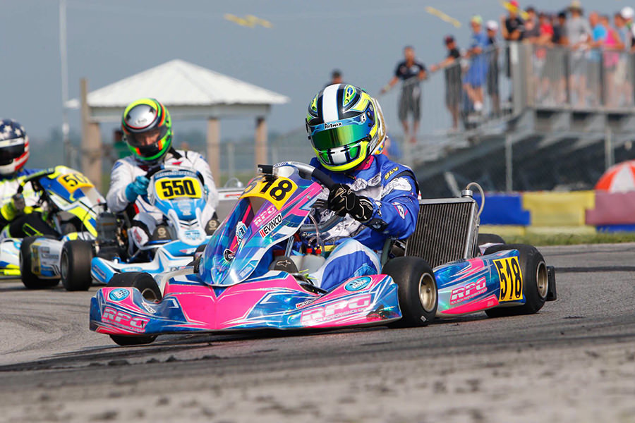 Brazilian Paulo Lopes finished 2018 as the vice-champion in the X30 Master category (Photo: On Track Promotions – otp.ca)