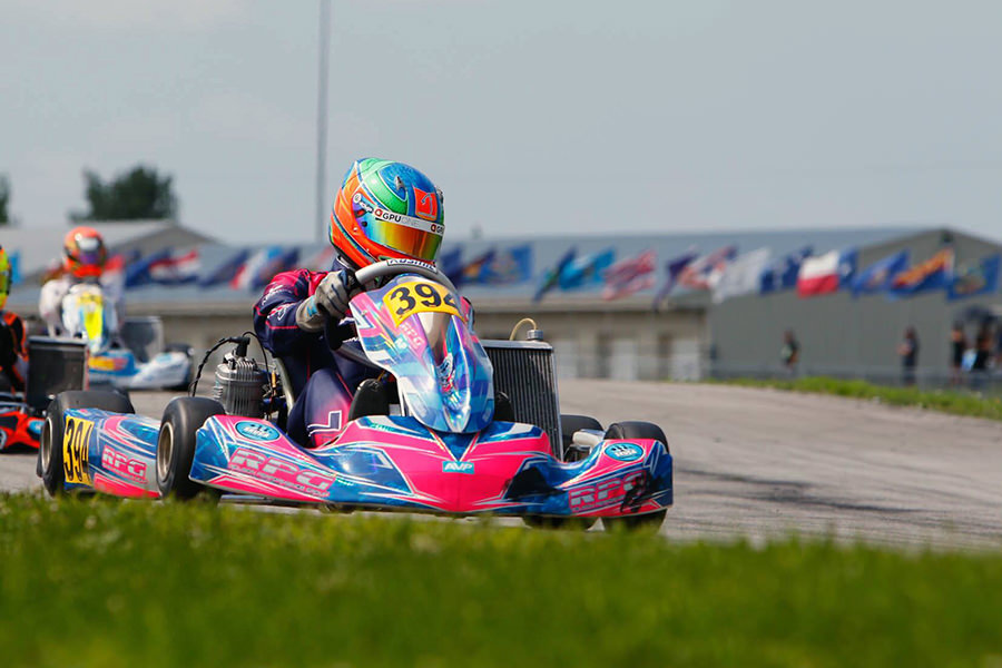 Canadian Samuel Lupien placed runner-up at the SKUSA Pro Tour finale, earning the SKUSA #2 plate for 2019 in X30 Senior (Photo: On Track Promotions – otp.ca)