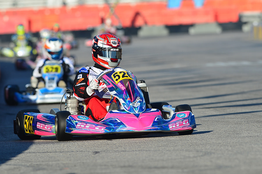An impressive debut at the SuperNationals for Jason Burns, giving the RPG team a podium in the X30 Master division (Photo: On Track Promotions – otp.ca)